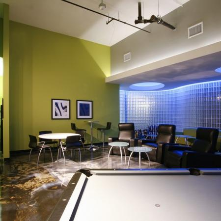 Residents Playing Pool | Apartment Homes in Chicago, IL | Tailor Lofts