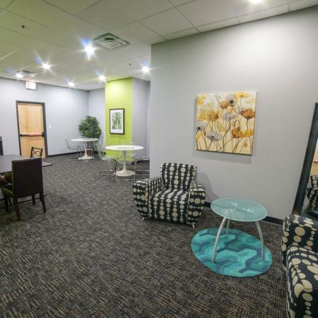 Resident Study Lounge | Apartment Homes in Chicago, IL | Tailor Lofts