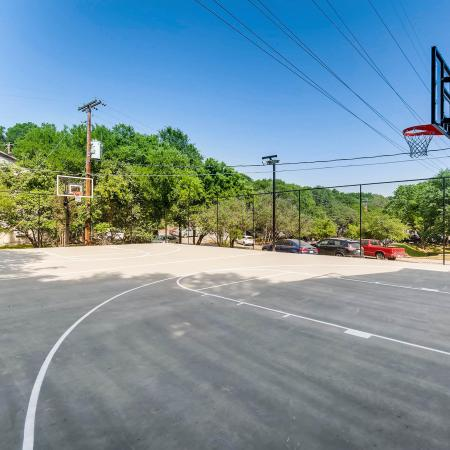 Community Basketball Court | Apartments Homes for rent in San Marcos, TX | The Timbers