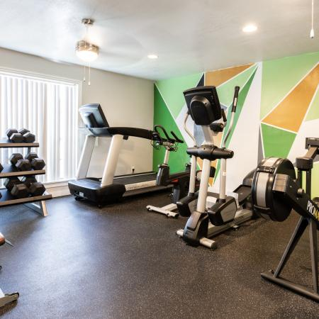State-of-the-Art Fitness Center | Apartment Homes in San Marcos, TX | The Timbers