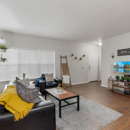 Spacious Living Room | Apartments in Denton, TX | Castlerock at Denton
