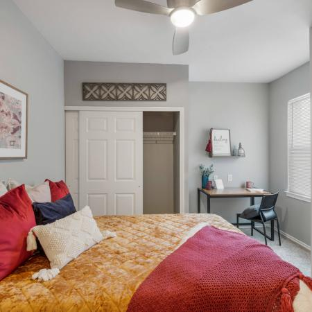 Vast Bedroom | Apartments for rent in Denton, TX | Castlerock at Denton