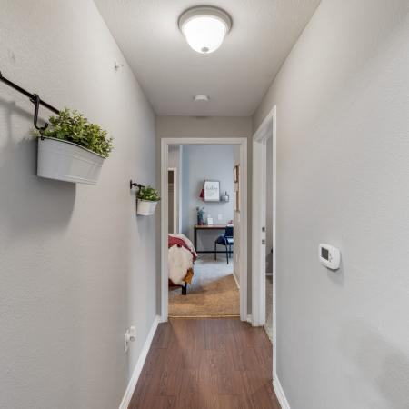Spacious Hallway | Apartments in Denton, TX | Castlerock at Denton