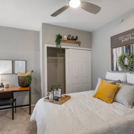 Spacious Bedroom | Denton TX Apartment Homes | Castlerock at Denton
