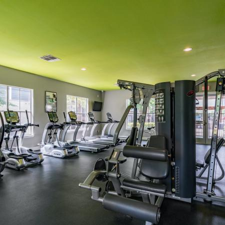 State-of-the-Art Fitness Center | Apartment Homes in Denton, TX | Castlerock at Denton