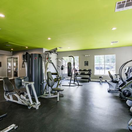 Cutting Edge Fitness Center | Apartment Homes for rent in Denton, TX | Castlerock at Denton