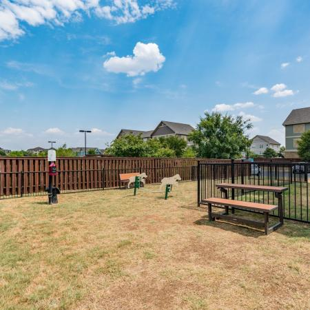 Community Dog Park | Apartment in Denton, TX | Castlerock at Denton