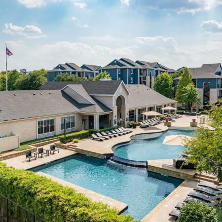 Resort Style Pool | Apartments in Denton, TX | Castlerock at Denton