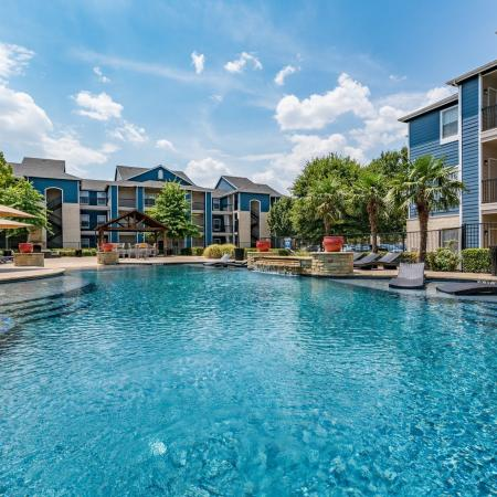 Sparkling Pool | Apartments for rent in Denton, TX | Castlerock at Denton