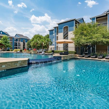 Community Pool | Apartment Homes in Denton, TX | Castlerock at Denton