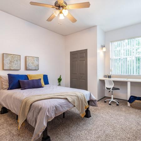 Spacious Bedroom | Tampa FL Apartment Homes | Station 42