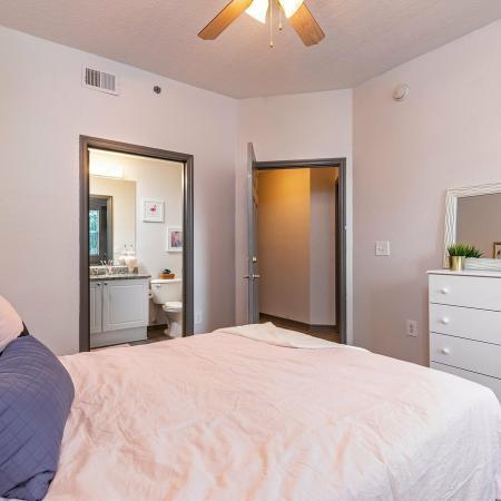 Elegant Bedroom | Apartment Homes in Tampa, FL | Station 42