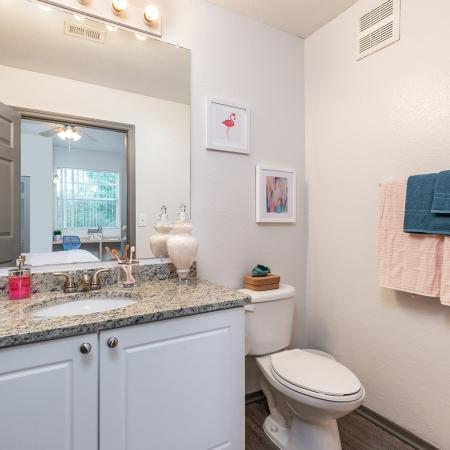Spacious Bathroom | Tampa FL Apartment For Rent | Station 42