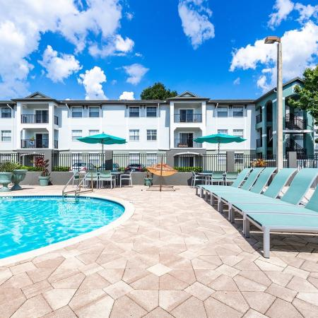 Sparkling Pool | Apartments for rent in Tampa, FL | Station 42