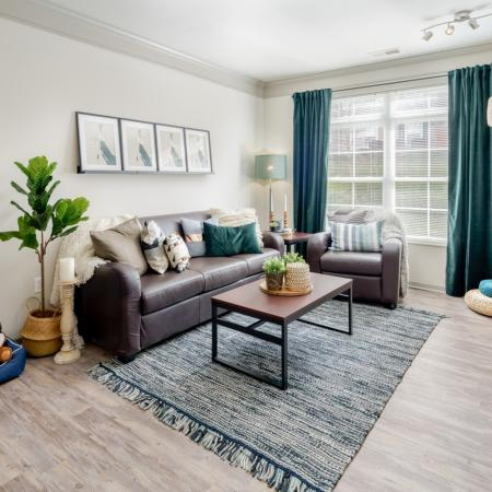 Spacious Living Room | Apartments in Athens, OH | The Summit at Coates Run