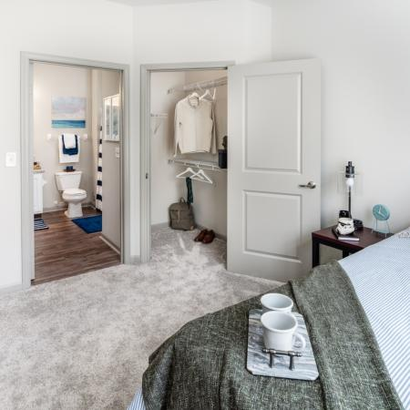 Vast Bedroom | Apartments for rent in Athens, OH | The Summit at Coates Run