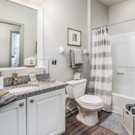 Elegant Bathroom | Apartments in Athens, OH | The Summit at Coates Run