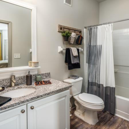Luxurious Bathroom | Apartments for rent in Athens, OH | The Summit at Coates Run