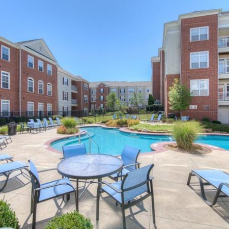Sparkling Pool | Apartments for rent in Athens, OH | The Summit at Coates Run