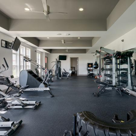 Cutting Edge Fitness Center | Apartment Homes for rent in Athens, OH | The Summit at Coates Run