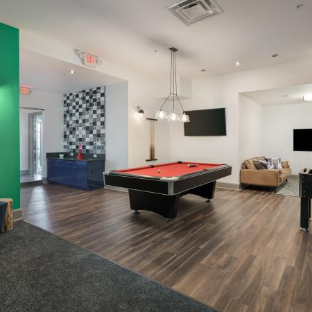 Resident Game Room | Apartments in Athens, OH | The Summit at Coates Run