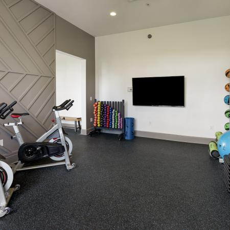 Community Fitness Center | Apartment in Athens, OH | The Summit at Coates Run