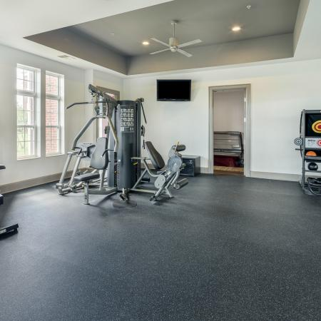 Resident Fitness Center | Apartments Athens, OH | The Summit at Coates Run
