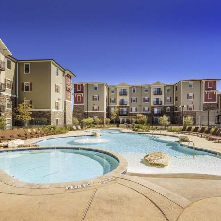 Resort Style Pool | Apartments in San Marcos, TX | Arba