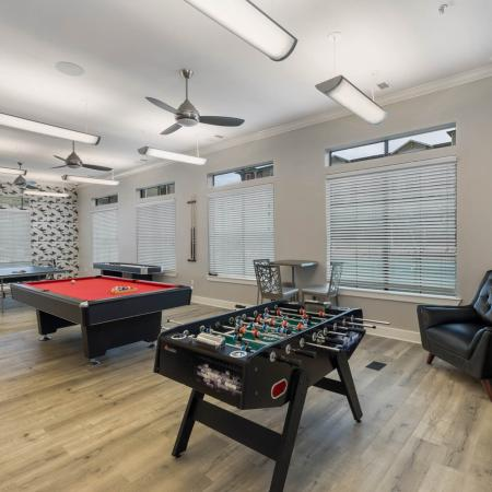 Resident Game Room | Apartments in San Marcos, TX | Arba