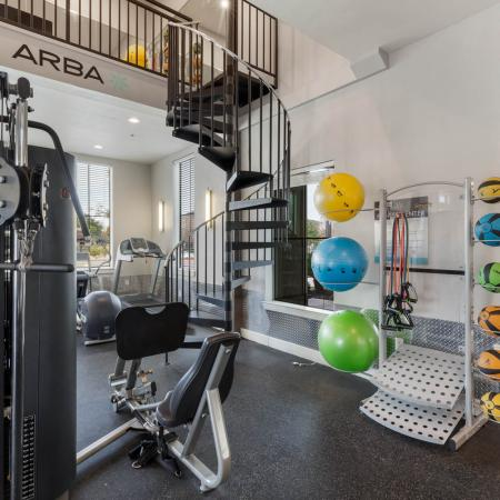 Resident Fitness Center | Apartments San Marcos, TX | Arba