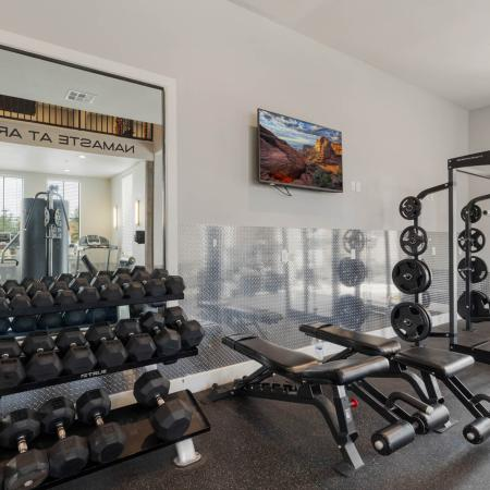 Community Fitness Center | Apartment in San Marcos, TX | Arba