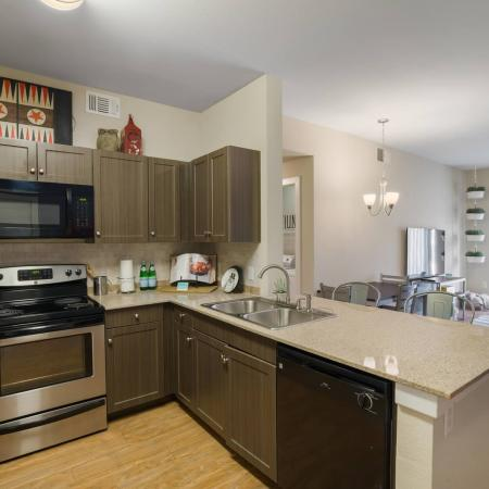 State-of-the-Art Kitchen   San Marcos TX Apartment Homes   Arba