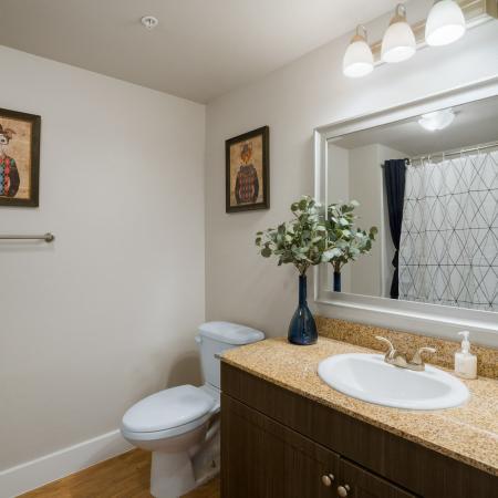 Spacious Bathroom | San Marcos TX Apartment For Rent | Arba