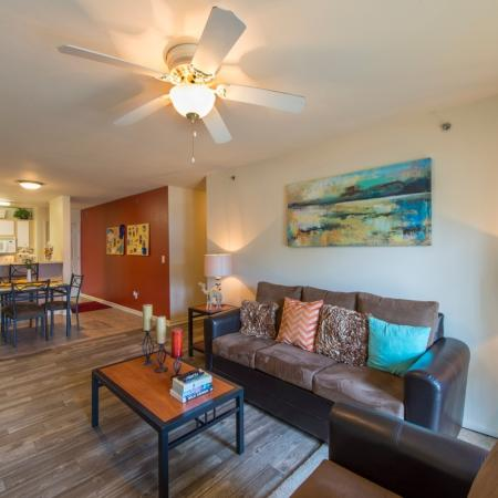 Spacious Living Area | Apartment Homes for rent in Murfreesboro, TN | Campus Crossing