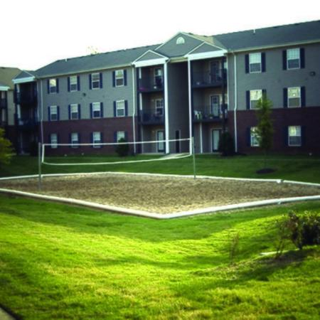 Resident Volleyball Court | Murfreesboro TN Apartments | Campus Crossings