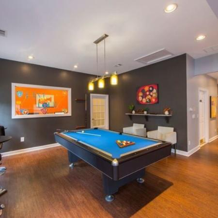 Resident Billiards Table | Apartments Murfreesboro, TN | Campus Crossings