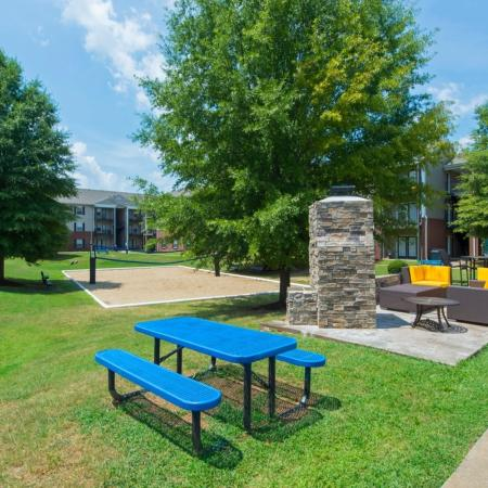Sand Volleyball Court | Murfreesboro TN Apartments For Rent | Campus Crossings