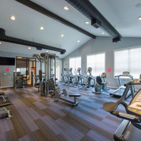 Cutting Edge Fitness Center | Apartments Homes for rent in Murfreesboro, TN | Campus Crossings