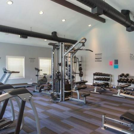 State-of-the-Art Fitness Center | Apartment Homes in Murfreesboro, TN | Campus Crossings