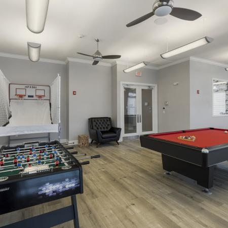 Community Game Room | Apartments for rent in San Marcos, TX | Arba