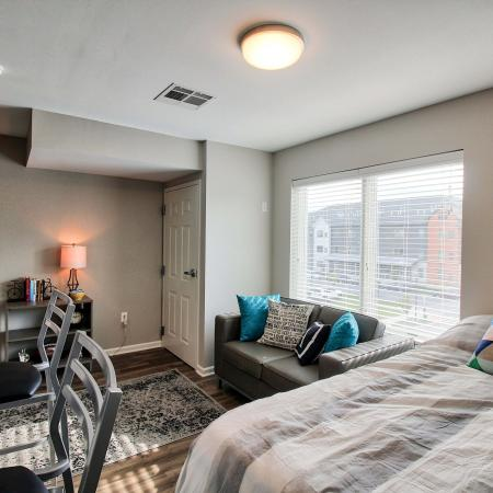 Spacious Bedroom | Buffalo NY Apartment Homes | Axis 360