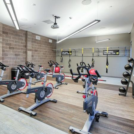 Cutting Edge Fitness Center | Apartments Homes for rent in Buffalo, NY | Axis 360