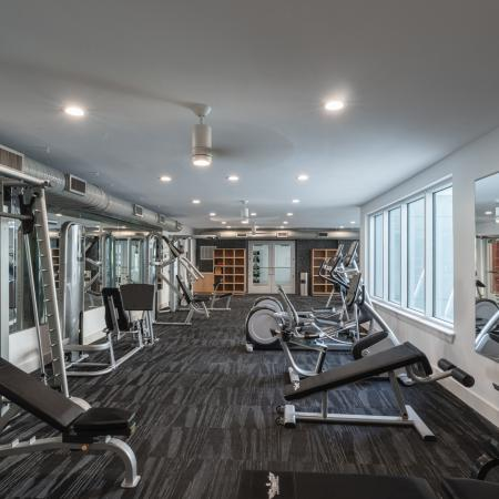Fitness Area with Weights