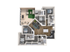 4 Bedroom with Balcony