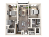 The Cadence B1 Floor Plan