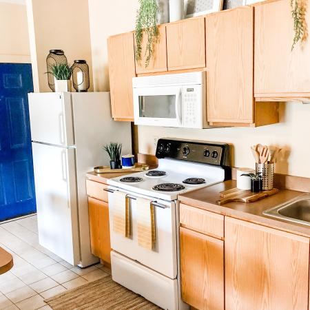 Modern Kitchen | Erie PA Apartment For Rent | University Gate