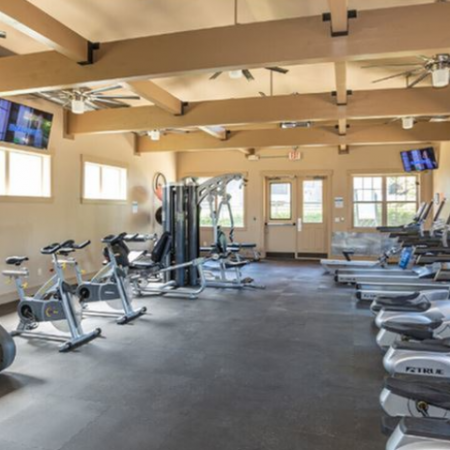 Fully Equipped Fitness Center | Legends Place | Off-Campus KU Apartments