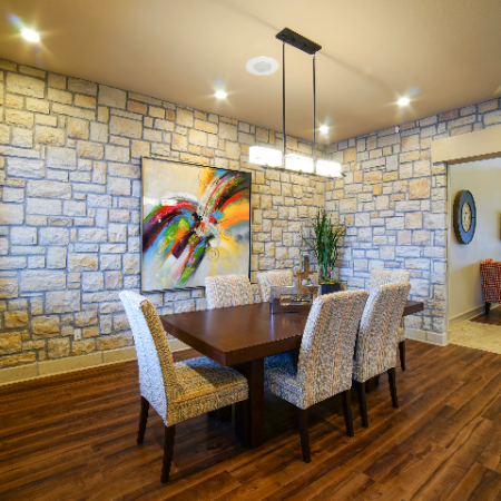 Serving & Dining Area in Clubhouse | Legends Place | Apartments in Lawrence, KS