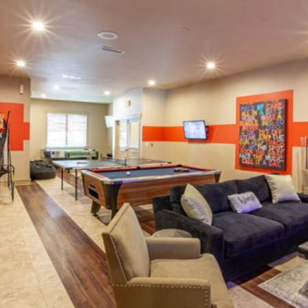Community Game Room | Legends Place | Apartments in Lawrence, KS