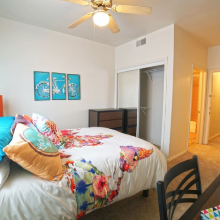 Spacious Bedroom | Legends Place | Student Apartments in Lawrence